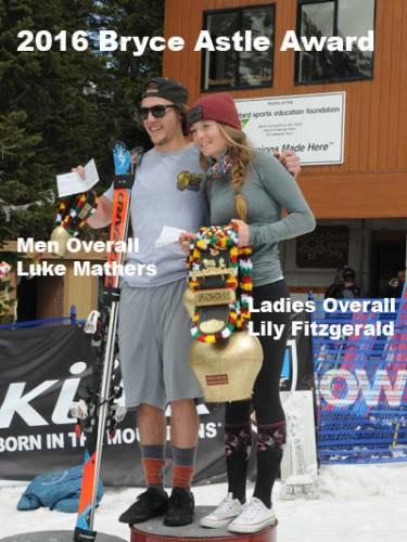 2016 Bryce Astle IMC winners