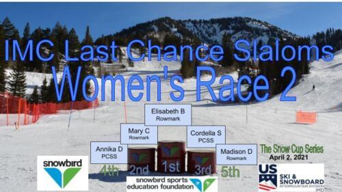 2021 Snowcup Podium SL W 2