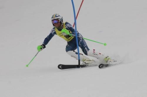 Eric Brandolini, SUM2016 Snow Cup SLBummer, straddle.